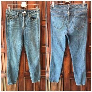 Free People High Waisted Skinny Jean